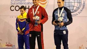Walter Carrizo Orellano se quedó con el bronce en Bolivia
