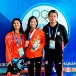Hiromi Sanchez consigue bronce para Perú en karate de los Juegos Suramericanos