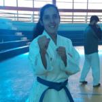 Milagros Alfaro gana bronce para Perú en karate de los Juegos Suramericanos