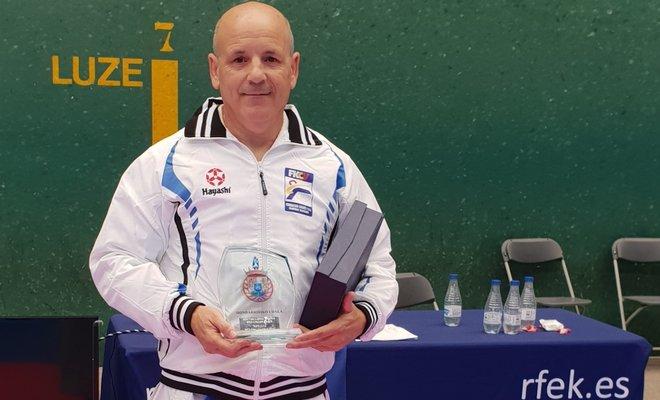 Carlos Giménez se proclama campeón de España de veteranos 0 (0)