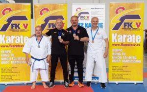 Carlos Moltó de Sedaví, tercero en el Autonómico de Karate Tradicional de Benigánim