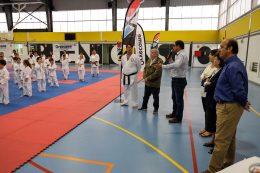 Más de 200 karatekas participaron en el II Encuentro del centro deportivo Shurite