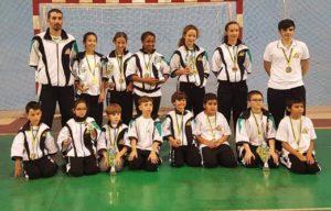 El Club de Kárate Ajei participó en el Campeonato de Promoción Juegos de Gran Canaria