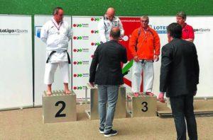 Jokin Larreta, bronce en el campeonato de España
