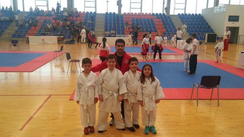 Varios alumnos del Shotokan Karate de Benavente participaron en el Campeonato Provincial de Edades Kata 2018