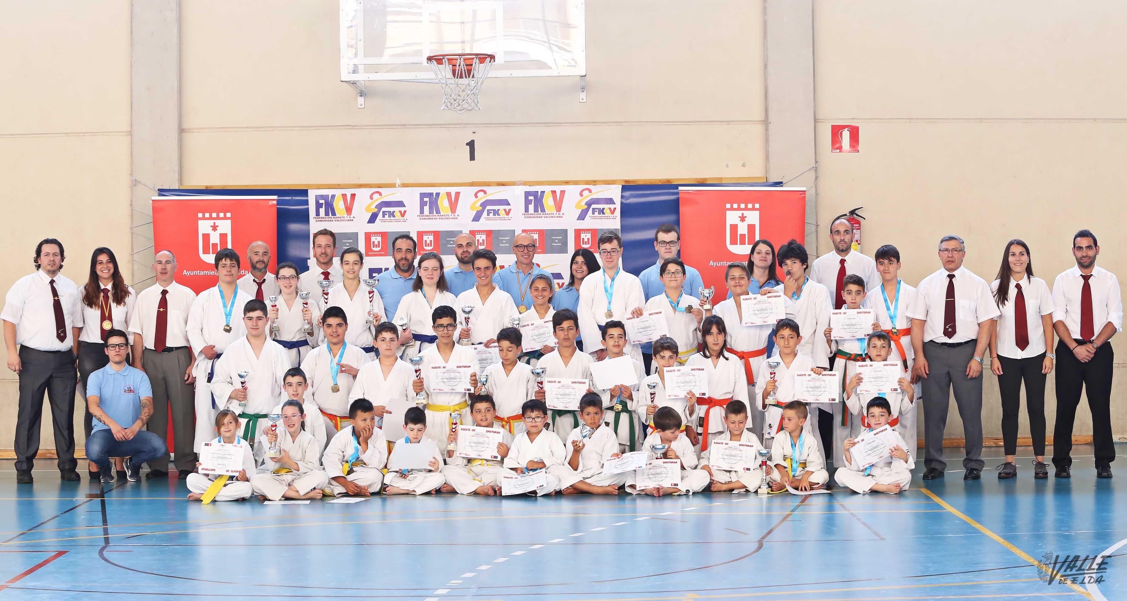 La Escuela Municipal de Karate se pone a prueba