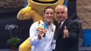 Laura Palacio, bronce en más de 68 Kg