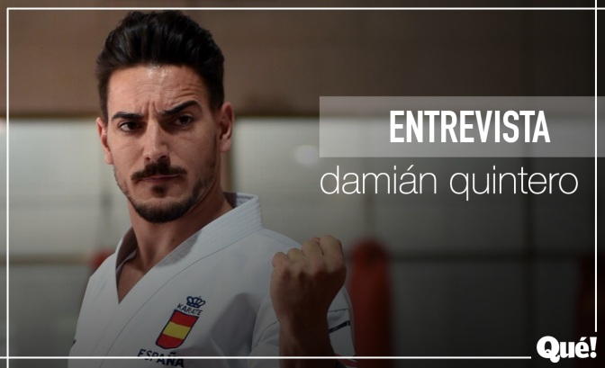 """Damián Quintero: """"Soy consciente de que soy la cara visible del karate español"""""""