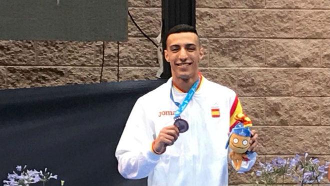 Samy Ennkhaili, bronce en karate