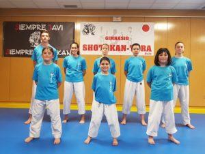 Tres competiciones para el Shotokan Tora durante el fin de semana