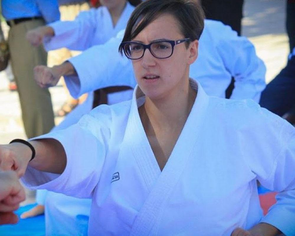 La campeona de España de kárate, Alba Ruiz Catena, impartirá un Curso de Defensa Personal Femenino en Baeza 0 (0)