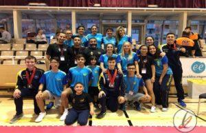 El Suhari obtiene 4 medallas en el Open Internacional de Andorra de Karate