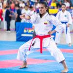 Andrea Armada consiguió medalla de plata en la modalidad de Kata adulto