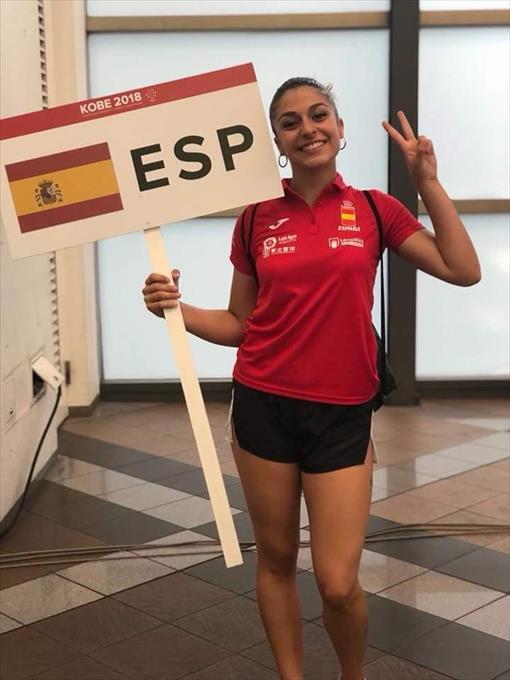 La extremeña Marta García peleará por el bronce en el Mundial Universitario de Karate