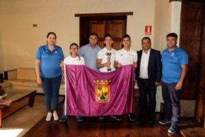 Los campeones de España del Centro Deportivo Shurite reciben reconocimiento