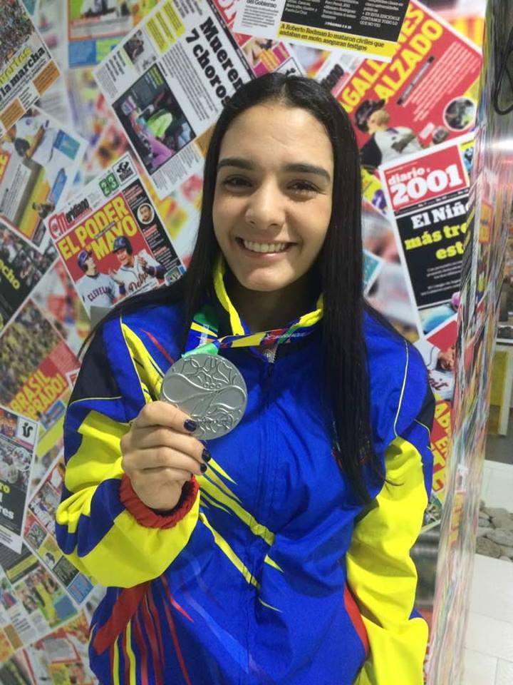 Andrea Armada cumplió uno de sus sueños en Barranquilla 0 (0)