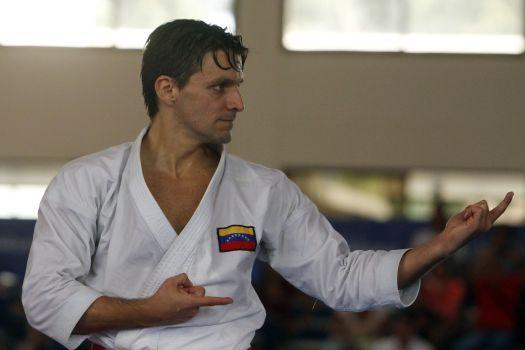 Antonio Díaz quiere reinar en el podio del próximo Mundial de Kárate 0 (0)
