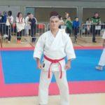 Jokin Larreta, cinturón negro 7º Dan de Karate-do