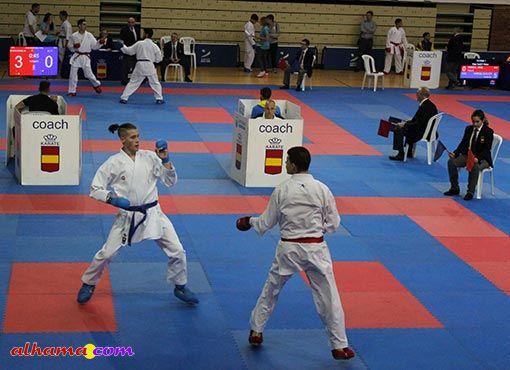Alhameños en Liga Nacional de Karate