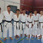 Cinco karatecas del Club Bushido de Ronda logran el cinturón negro en Córdoba tras superar todas las pruebas
