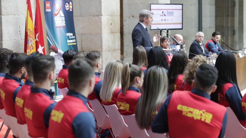 Garrido presenta el Mundial de Kárate, un nuevo evento deportivo internacional