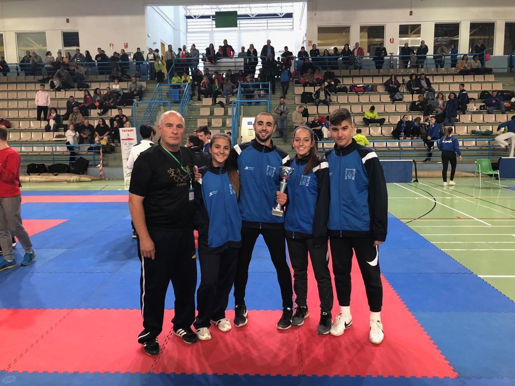 Jesús Mota, subcampeón andaluz en Kumite junior