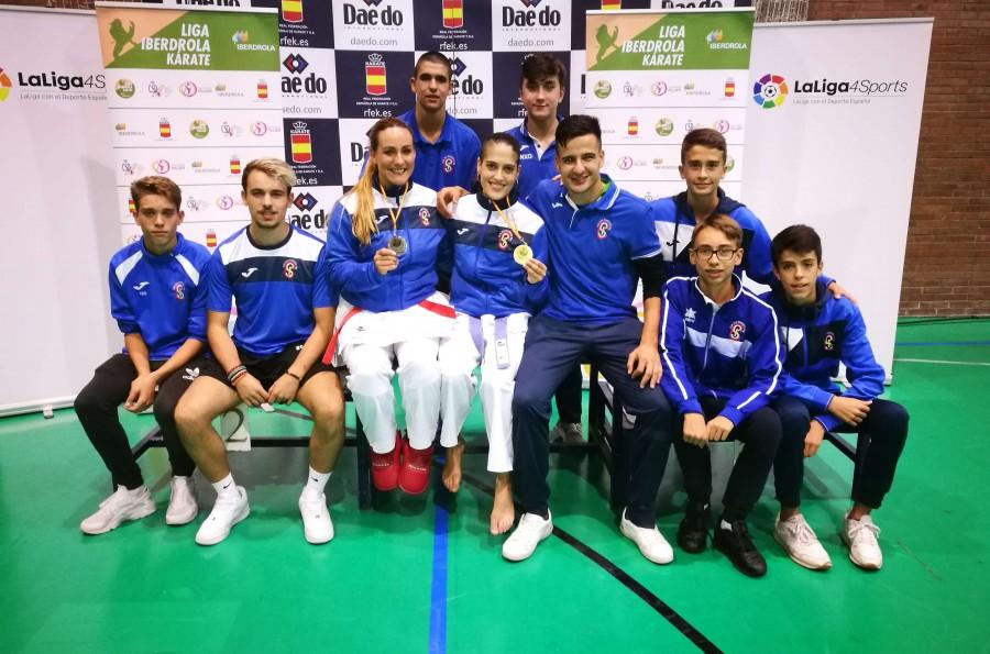 Ruth Lorenzo y Nerea Bellido directas a la gran final de la Liga Nacional de Kárate