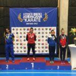 Magdalena Castillo fue bronce en el Iberoamericano de Santiago de Chile