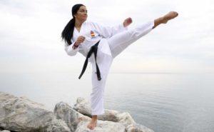La karateka malagueña María Torres reta al mundo en busca del oro