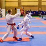 Miguel Atienza y Estrella Abegue, bronce en la Liga Nacional de Karate