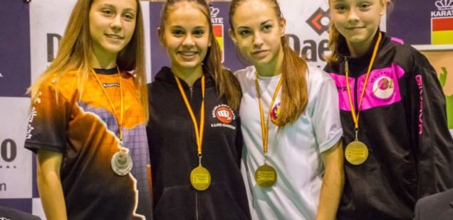 Bronce para Nidia García en la Liga Nacional de Karate