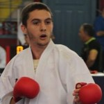 El tinerfeño Óscar Pérez, campeón de Canarias de Kárate