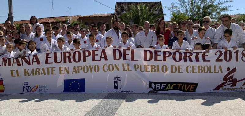 Sandra Sánchez y el mundo del kárate muestran su solidaridad con Cebolla tras la riada
