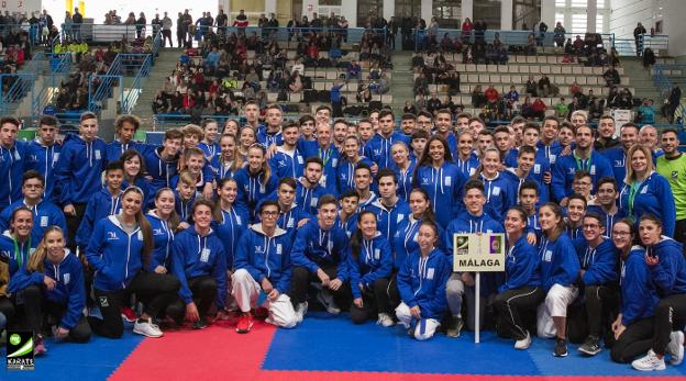 Los malagueños consiguen 50 medallas en el Andaluz