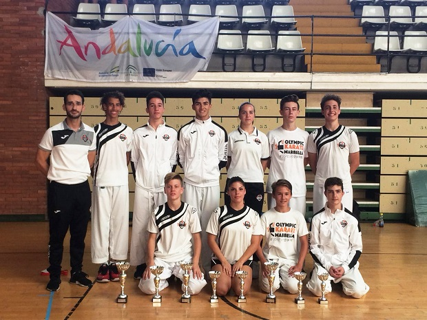 Olympic Karate Marbella se trae ocho medallas del Campeonato de Málaga 0 (0)