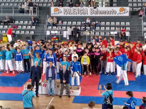 La guijuelense Daniella Sánchez campeona regional de kárate
