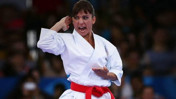 Sandra Sánchez se asegura el título de campeona del circuito mundial de kárate