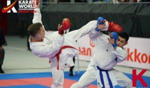 Camilo Velozo ganó medalla de bronce en el Mundial de Karate