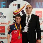 Carlos Huertas, bronce en su primer Mundial de Kárate Adaptado