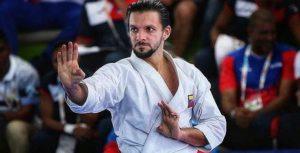 El venezolano Antonio Díaz se despidió de los mundiales de karate