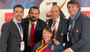 Isabel Fernández el tercer oro de los regionales