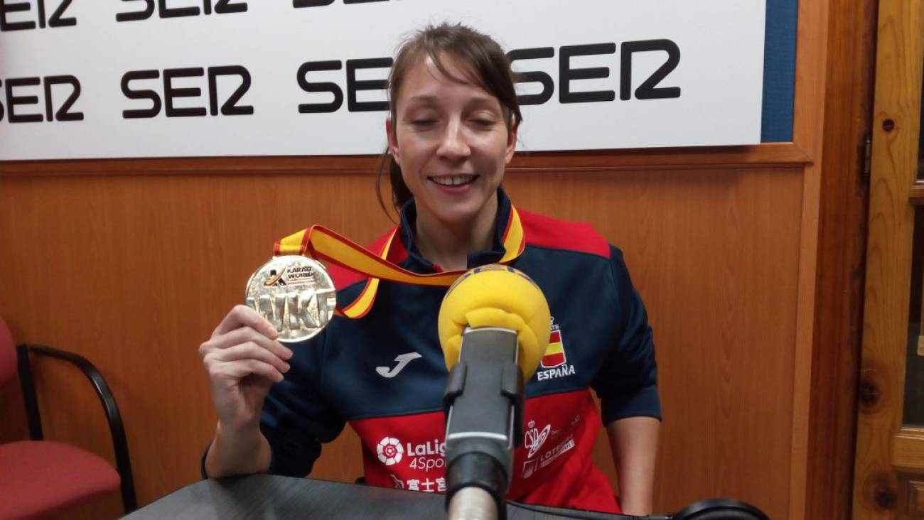 Isabel Fernández espera estar en Tokio si el para-karate entra como deporte exhibición