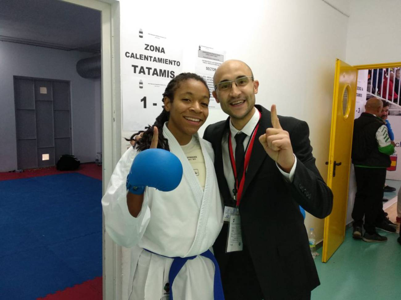 La palentina María Isabel Nieto Mejías, campeona de España de karate 0 (0)