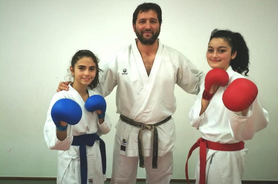 Dos karatecas compostelanas a punto de clasificarse para la fase final de Liga de Kárate Femenino