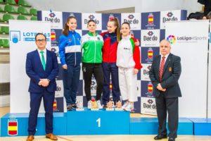 Sabrina Medero, de Olympic Karate Marbella, se proclama Campeona de España