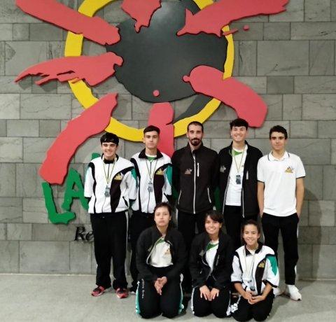 5 medallas para el Club de Kárate Ajei  en el XXVI Trofeo Pepe Pérez