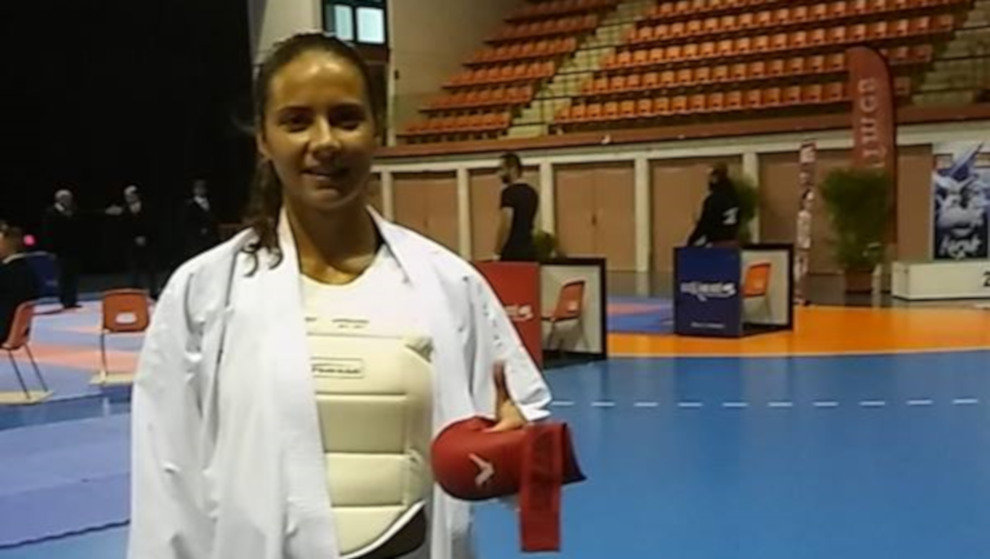La nojeña Carlota Fernández se queda a las puertas del bronce en el Mundial de Kárate