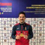 Damián Quintero cierra en Shanghai un año de oro