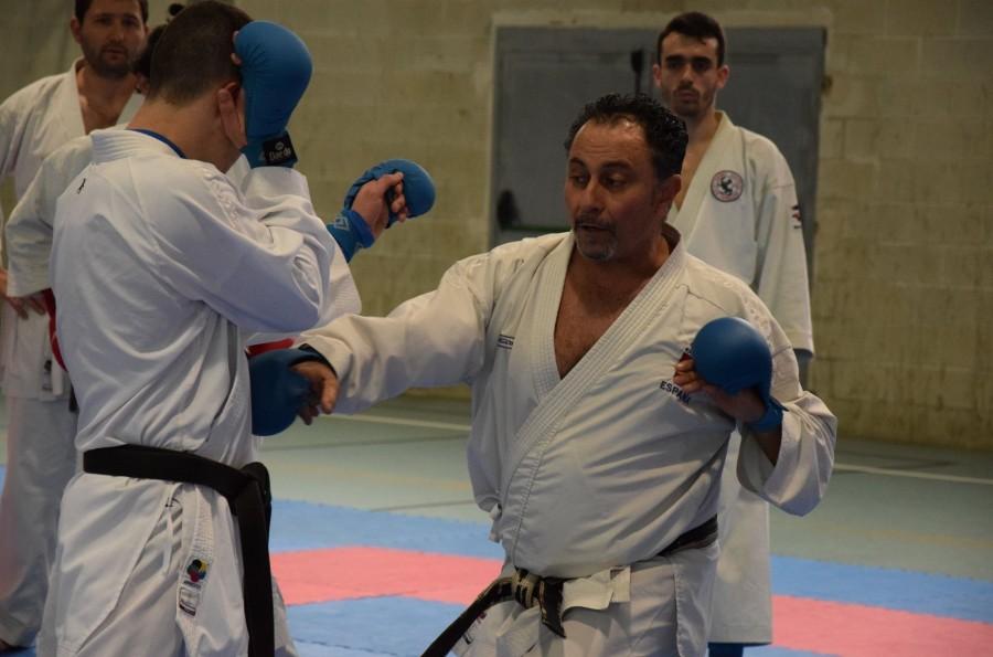 Javier Ferreira impartirá un curso de kárate en Los Tilos