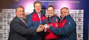 Ferrer suma una plata a su medallero internacional